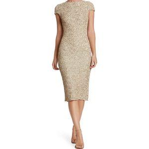 Marcella Sequin Midi Dress